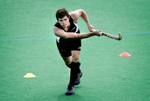 Nick Haig of the Black Sticks. Photo / Doug Sherring