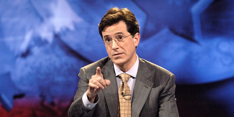 US comedian, Stephen Colbert. Photo / Supplied