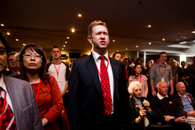 Labour MP David Cunliffe during the Labour Party conference. Photo / Dean Purcell