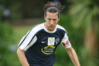 Captain Ivan Vicelich says Auckland City will change its style of play depending on circumstances. Photo / Greg Bowker