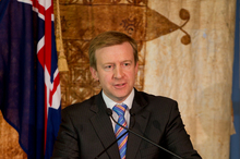 New Zealand Defence Minister, Jonathan Coleman. Photo / Steven McNicholl