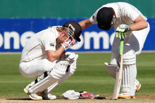 Scott Styris and Kane Williamson find it easy to get to the international level, but harder to excel there. Photo / Mark Mitchell
