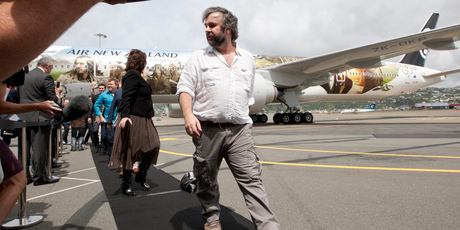 Sir Peter Jackson's The Hobbit has led to a surge in US flight bookings. Photo / Mark Mitchell