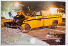 Drink-driver Wally Watson went to prison for this crash that killed his friend Gavin Cuthbert. Photo / NZ Herald
