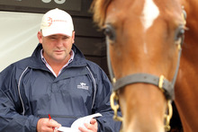 Trainer Peter Moody said he expected Black Caviar to return to his Caulfield stable in January. Photo / Janna Dixon