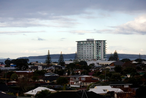 The Nautilus apartment building in Orewa. Photo / Dean Purcell