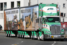 There are concerns by vehicle inspectors if issuing of warrants of fitness for trucks and buses are deregulated. Photo / Hawkes Bay Today