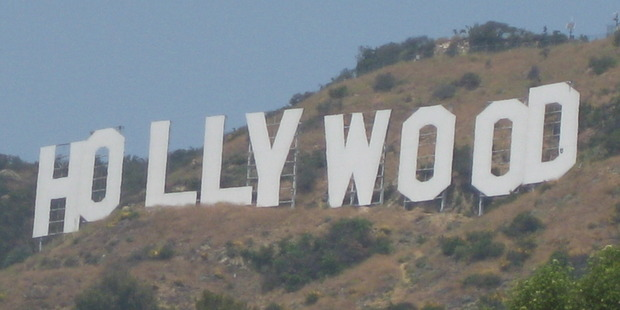 The Hollywood sign, built in 1923, demands attention with 15m-tall letters that have needed repairs over the years. Photo / Thinkstock