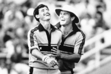 The halcyon days of the '80s included heroes like Sir Richard Hadlee and Martin Crowe, two of the all-time greats. Photo / NZ Herald archives