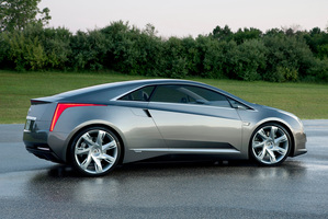 Cadillac's dramatic luxury coupe with extended-range electric vehicle technology. Photo / Supplied