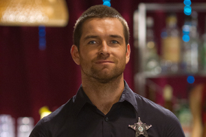 Antony Starr in the TV series Banshee. Photo / Supplied