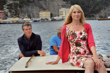 Pierce Brosnan and Danish actress Trine Dyrholm play future in-laws who fall in love. Photo / Supplied