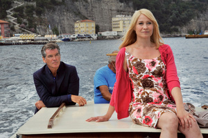 Pierce Brosnan and Danish actress Trine Dyrholm in Love Is All You Need. Photo / Supplied