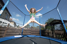 The price of some trampolines is out of reach for many families. Photo / Getty Images
