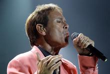 Cliff Richard performs at Vector Arena. Photo/Sarah Ivey