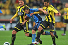 Alessandro Del Piero in action against the Wellington Phoenix earlier this season. Photo / Getty Images