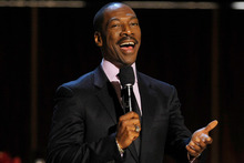 Eddie Murphy's movie bombs made him Hollywood's most overpaid actor. Photo/AP