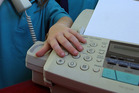 A man's criminal record was accidentally faxed to a west Auckland removal business. Photo / File photo