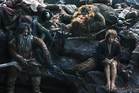 The Hobbit is reportedly making audiences dizzy and nauseous. Photo/AP