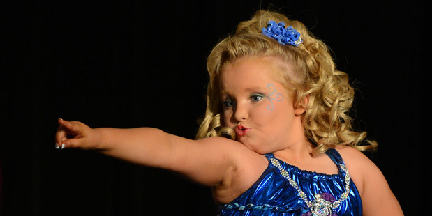 Alana Thompson, also known as Honey Boo Boo. Photo/supplied