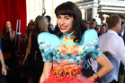 Kimbra at the Australian music industry Aria Awards. Photo/AP