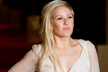 British singer Ellie Goulding didn't seem to mind the extra attention.Photo / AFP