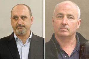 Peter Bennett (left) and Michael Quinlan were found guilty of dealing in cannabis-growing equipment. Photo / Greg Bowker