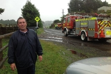 Chris Heywood got sucked up in the Rotorua tornado along with his truck and horses. Photo / Katie Holland