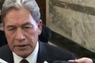 NZ First leader Winston Peters responds to questions, after he expelled MP Brendan Horan from caucus. Courtesy: youtube.com/ofInterestNZ