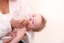 Breast-feeding advocacy groups were furious about the bottle-feeding shown in the anti-smoking advert. Photo / Thinkstock