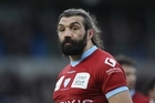 Sebastien Chabal appears to be on the outer with Racing Metro. Photo / Getty Images