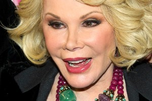 Joan Rivers has had everything lifted in an attempt to defy her 78 years. Photo / AP