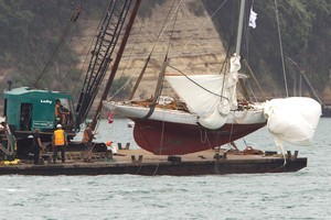 71-year-old classic yacht Gypsy. Photo / Brett Phibbs