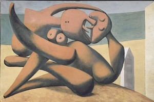 Picasso, Figures au bord de la mer (Figures at the seashore) 1931. Photo / Supplied