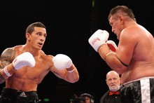 Luke Jackson says that Sonny Bill is 'not much of a boxer'. Photo / Getty Images