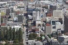 Many Christchurch buildings have been left damaged by earthquakes. Photo / File