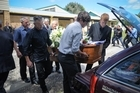 The funeral for Anna Pidduck was filmed for her son. Photo / Jason Dorday