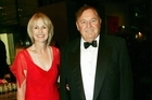 Diana Bliss and Alan Bond were married for 17 years.  Picture / Getty Images