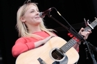 Laura Marling  at  St Jerome's Laneway Festival at Silo Park, Auckland. Photo / Richard Robinson.