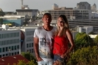 Matt Bilkey and Kate Allinson are having a hard time finding a place to rent in Auckland. Photo / Steven McNicholl