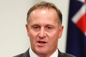 Prime Minister John Key has failed to dampen the anger of the Maori Party. Photo / Mark Mitchell