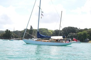 Classic yacht Gypsy was sunk in a collision with another boat. Photo / Supplied.