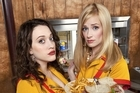 Kat Dennings and Beth Behrs are 2 Broke Girls. Photo / Supplied