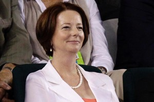 Australian Prime Minister Julia Gillard is losing ground according to the latest poll. Photo / AP