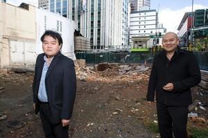 John and Michael Chow. Photo / Paul Estcourt