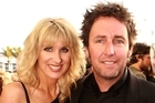 Kate Hawkesby and Mike Hosking. Photo / Norrie Montgomery