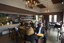 Verdict Cafe and restaurant on Huron Street in Takapuna.  Photo / Paul Estcourt