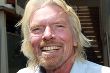 Rob Fyfe has denied he was headhunted by Richard Branson (pictured). Photograph / Doug Sherring