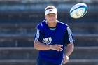 Gareth Anscombe will have his chance to impress in a trial game against the Hurricanes. Photo / Dean Purcell.