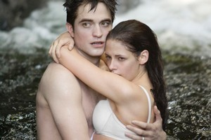Robert Pattinson and Kristen Stewart in The Twilight Saga: Breaking Dawn - Part 1. Will Pure be the new Twilight? Photo / File